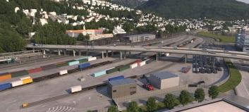 400 færre lastebiler i døgnet