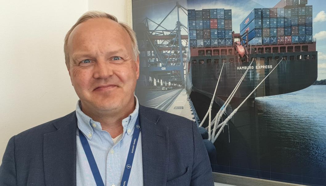 Henrik Mossin har daglig global tilstedeværelse i K+N.