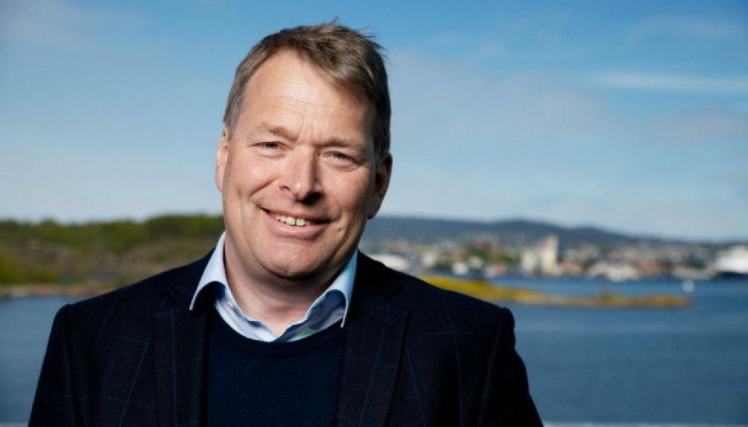 Kommersiell direktør Einar Marthinussen i Oslo Havn forteller at containertrafikken til Oslo de siste årene har økt med nærmere 30 prosent og at andelen gods med europeisk opprinnelse har nær doblet seg.