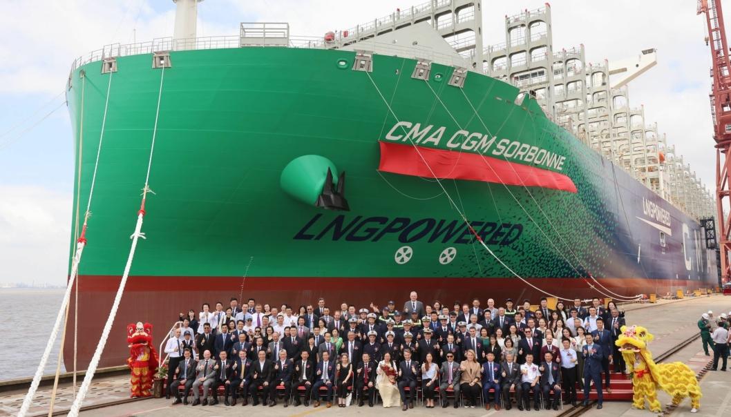 CMA CGM-flåtens niende LNG-skip.