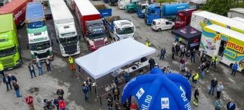 Hjertet i transport- og logistikknæringen slår tungt