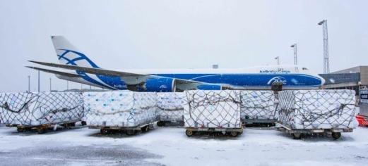 AirBridge på vingene med norsk laks