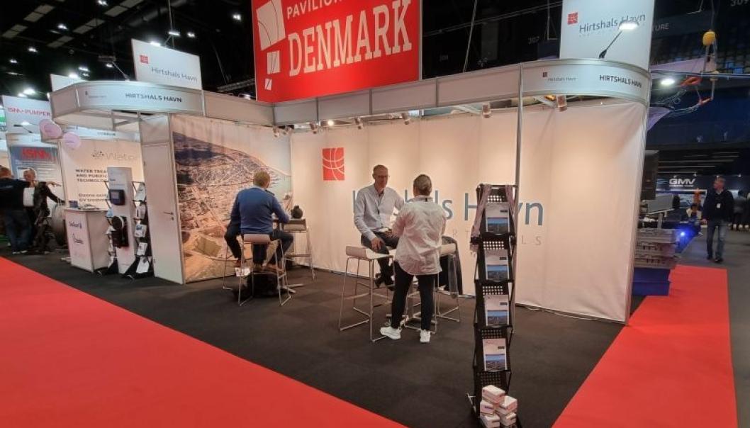Hirtshals Havn er på plass i Trondheim og på Aqua Nor 2021.