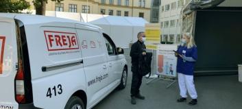 Freja har distribuert over 1 million vaksinedoser i Oslo