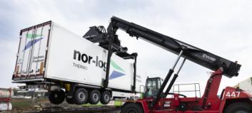 Nor-log og CargoNet gods-samarbeider på skinner