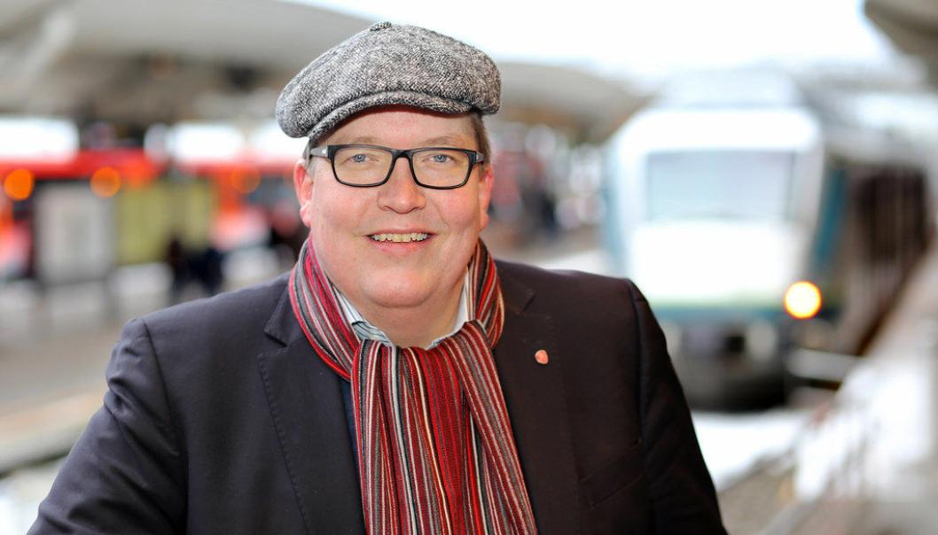 Sverre Myrli vil trolig komme til årets Transport&Logistikk som Norges nye samferdselsminister.