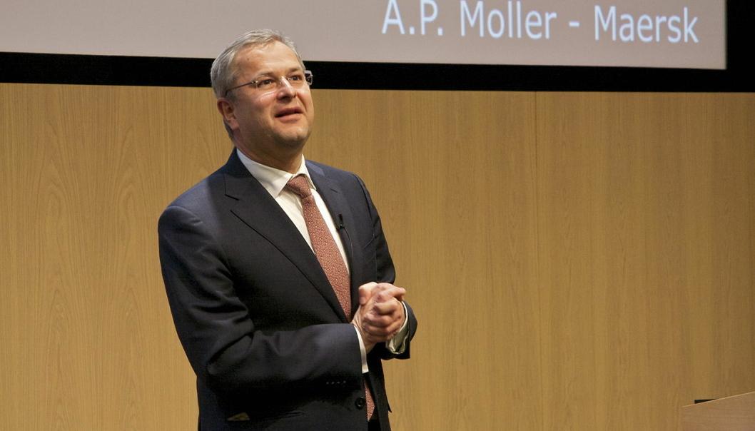 Mærsk-sjef Søren Skou vil revolusjonere shippingbransjen med sitt forbud mot fossilt drivstoff.