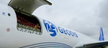 Nytt fraktfly mellom Europa og Asia