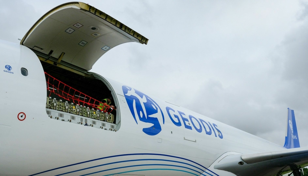 Geodis setter inn sine nye A330-300 helfraktfly i rotasjonen mellom Europa og Asia.