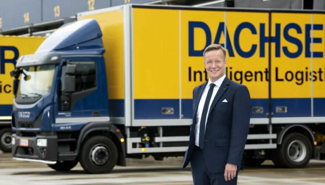 Tuomas Leimio, Managing Director i Dachser Finland European Logistics.