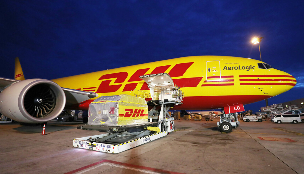 DHL Express ti-dobler flyfraktkapasiteten med nytt europeisk nav.