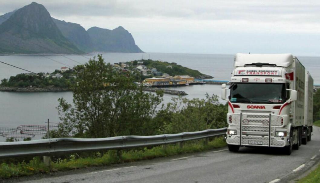 Hurdalsplattformen kan bidra til å lette situasjonen for tungtransporten i nord. (Foto: Statens vegvesen)