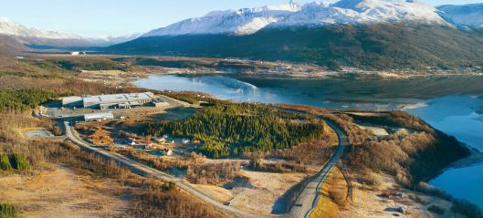 250 mål til logistikkpark i Tromsø