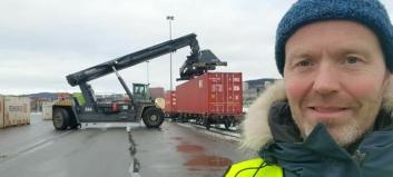 Onrail starter godstog Fauske-Oslo